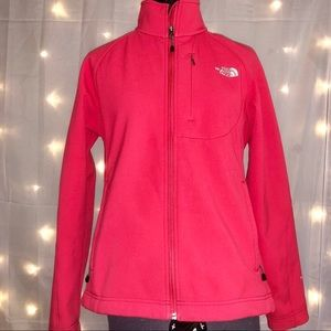 The North Face Pink Semi-Hard Shell Jacket
